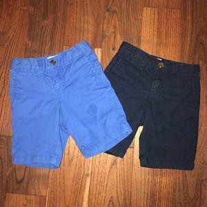 Bundle of 2 old navy toddler boy shorts